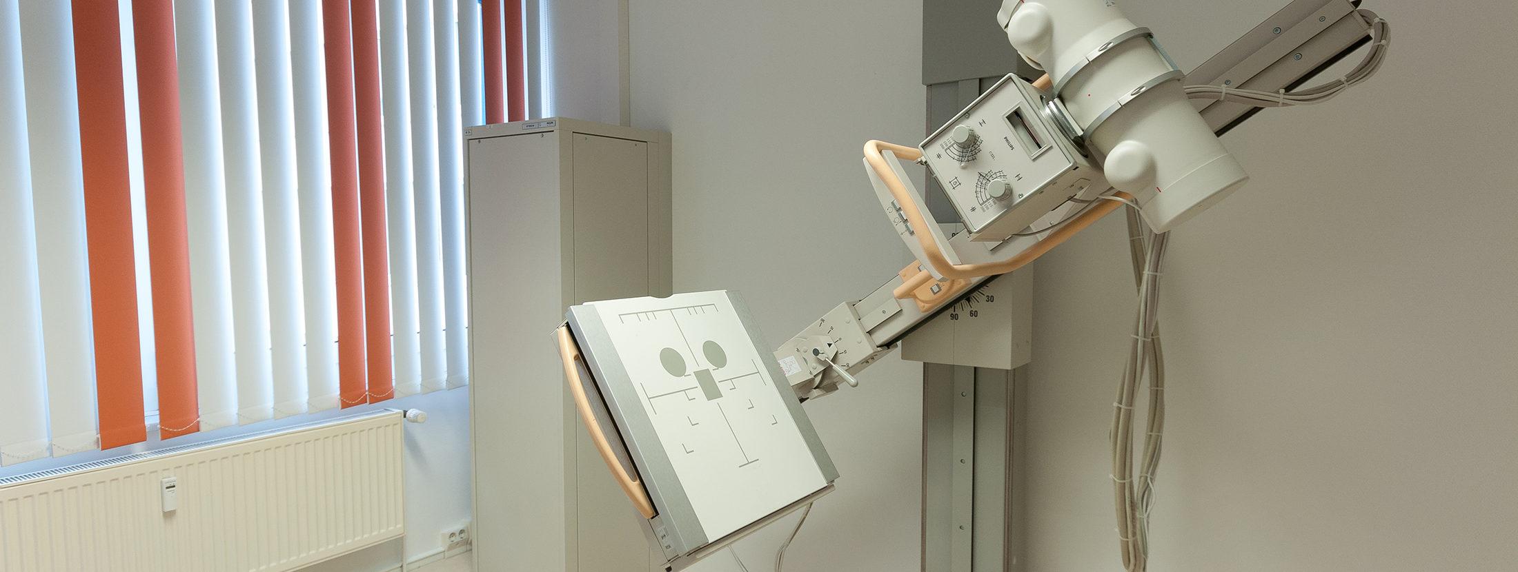 Aufnahme eines Röntgengeräts