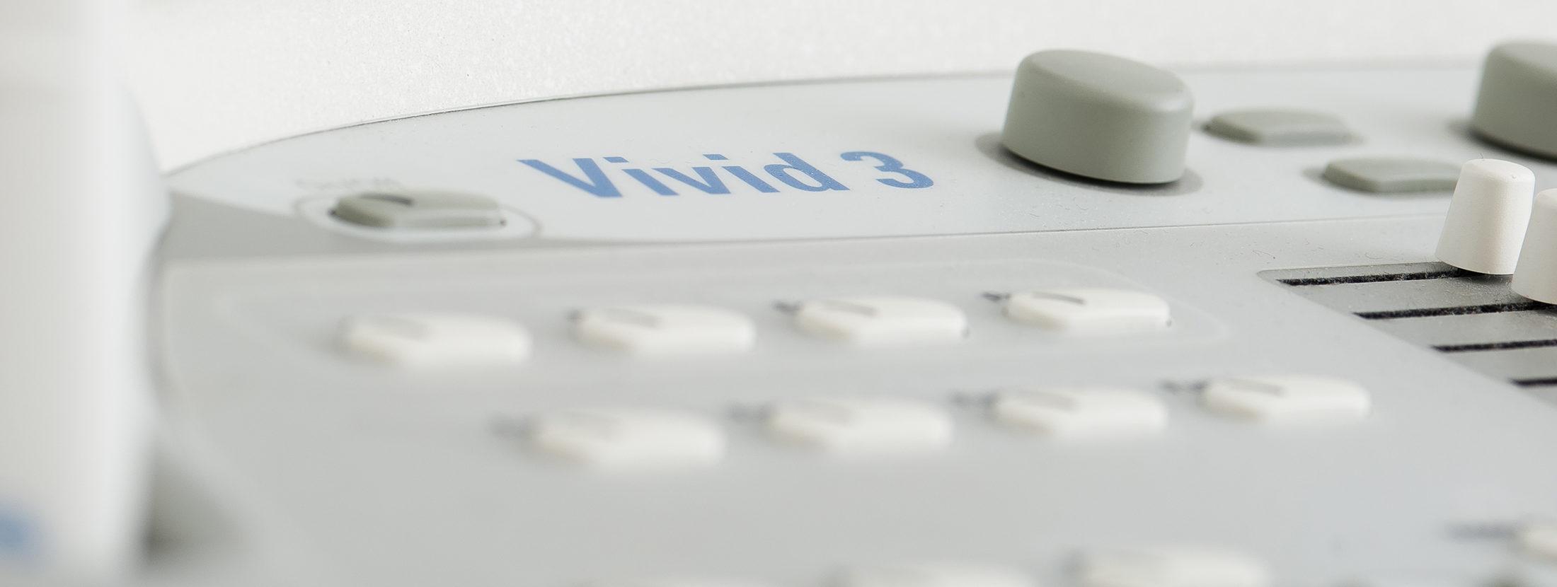 Nahaufnahme von Arzt-Equipment zur Ultraschalluntersuchung