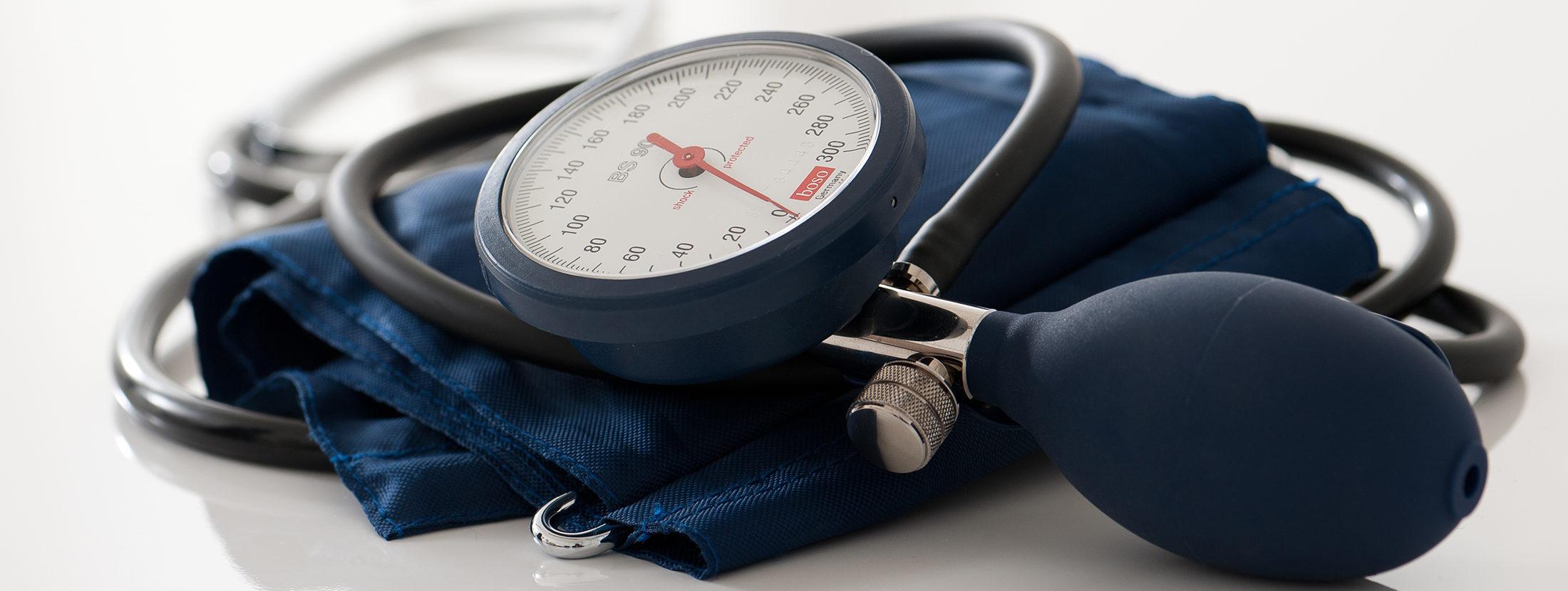 Ein Blutdruckmessgerät